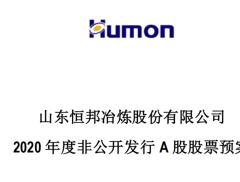 恒邦股份拟向18名对象非公开发行股份 募资31.7亿元