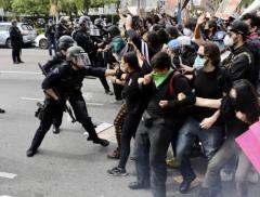 """""""我无法呼吸""""席卷全美!骚乱升级,25城宵禁,洛杉矶进入紧急..."""